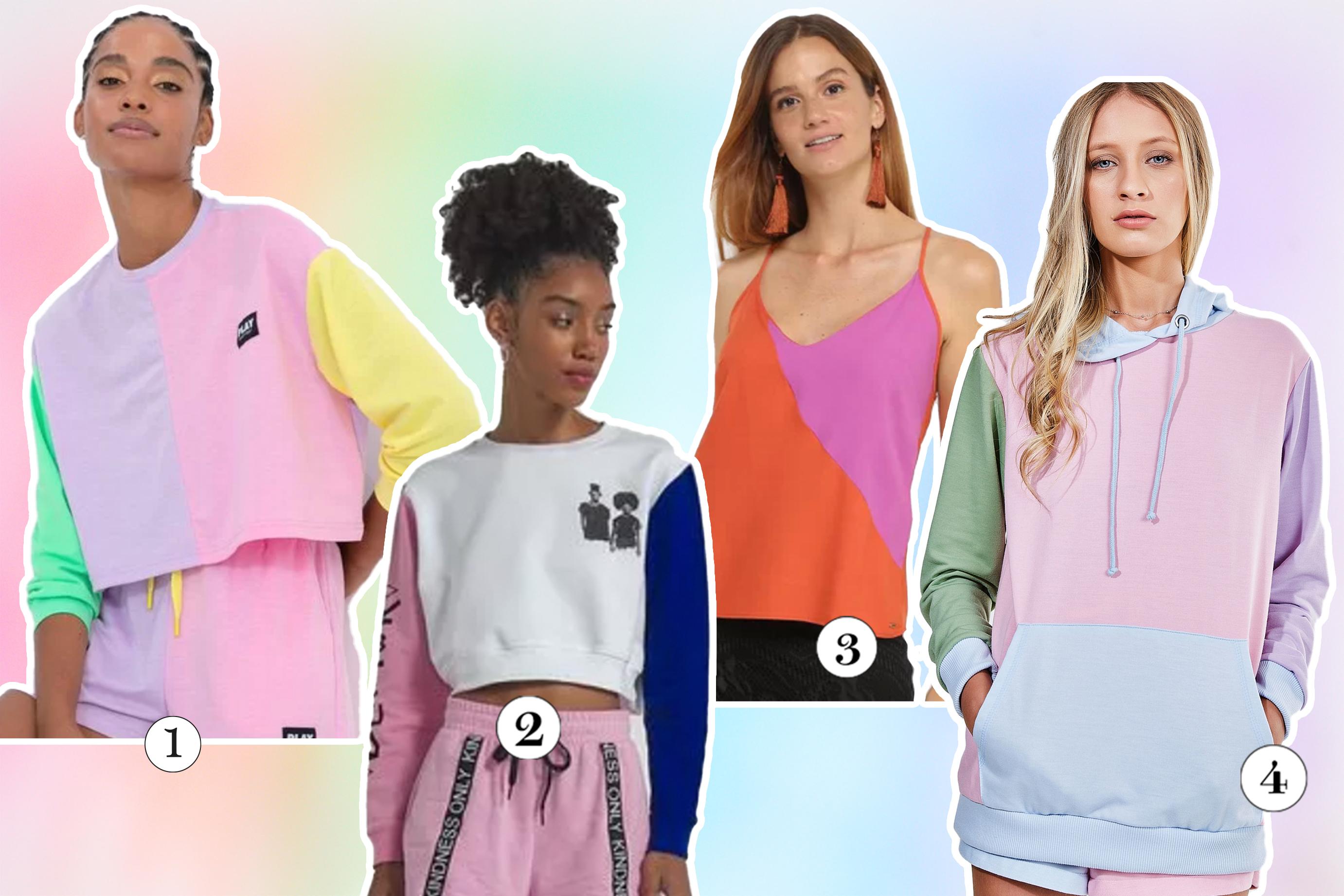 Moda colorida virou tendência e possibilita diversas combinações
