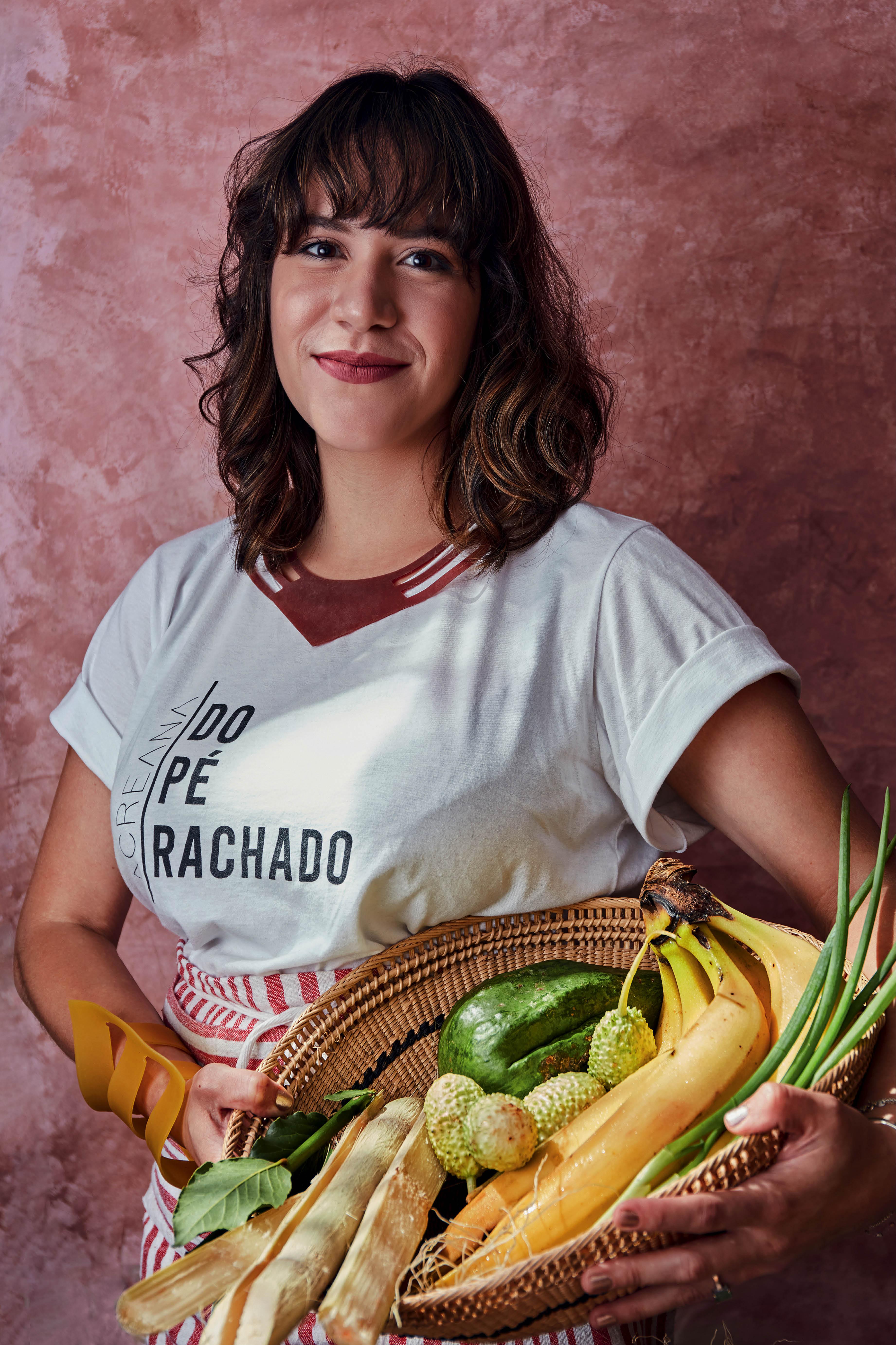 A culinarista Amanda Vasconcelos, fundadora da Casa Tucupi, em São Paulo