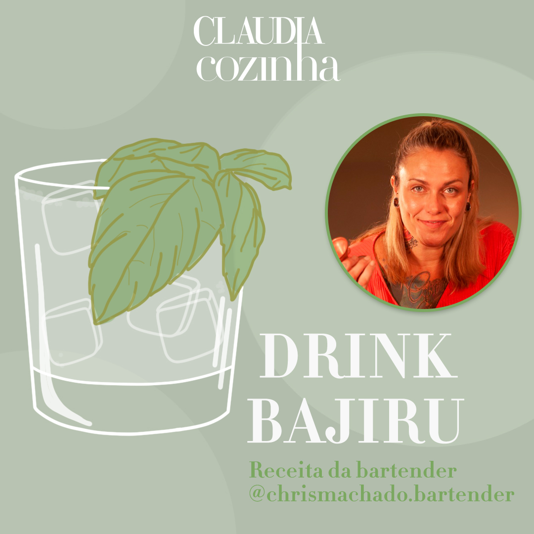 Drink Bajiru, por Chris Machado