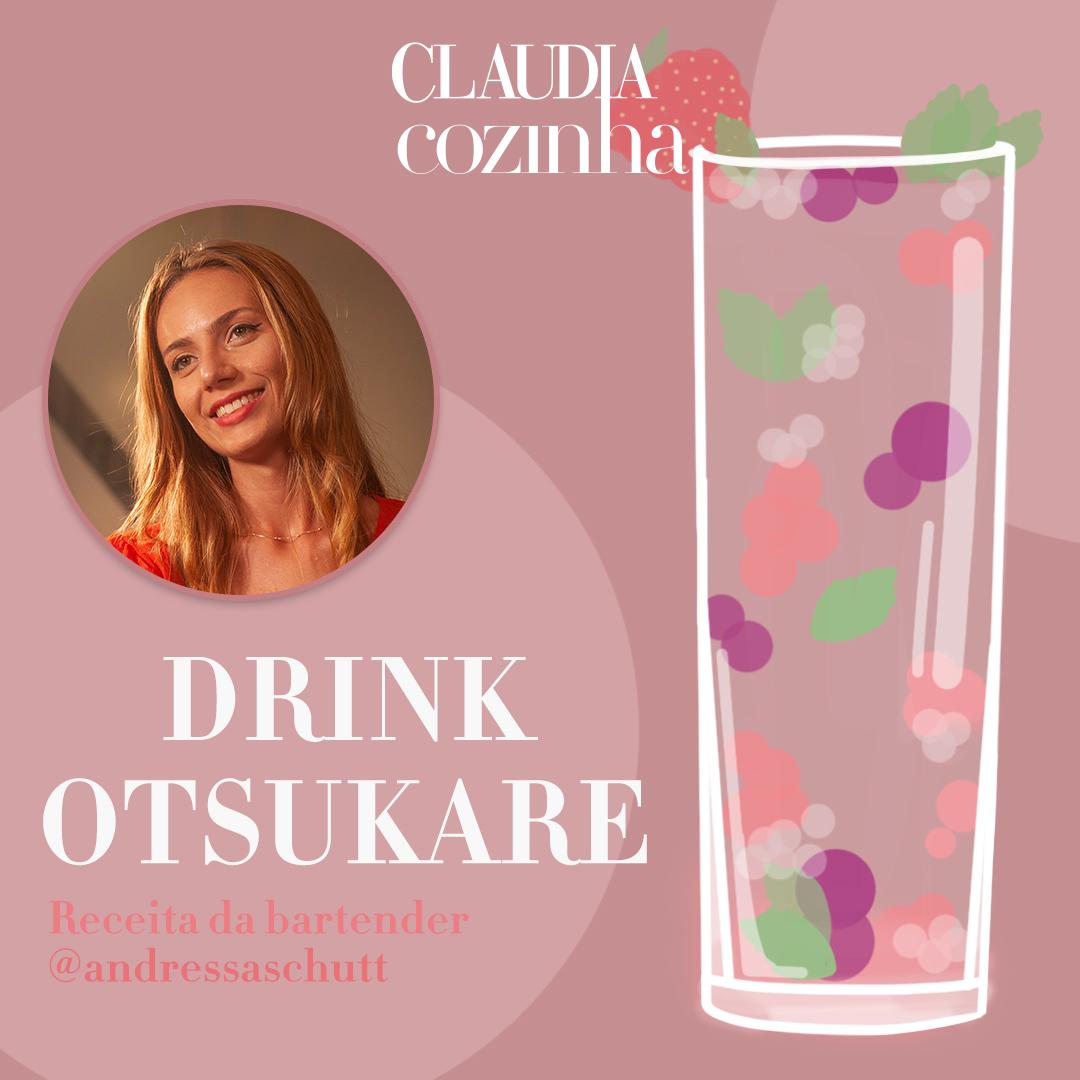 Drink Otsukare, por Andressa Schütt