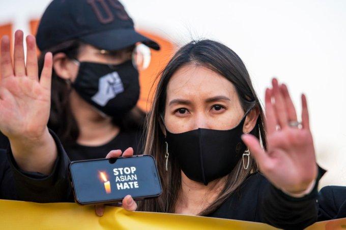 Vigil Against Anti-Asian Violence