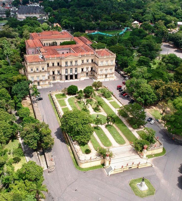 Museu nacional do RJ