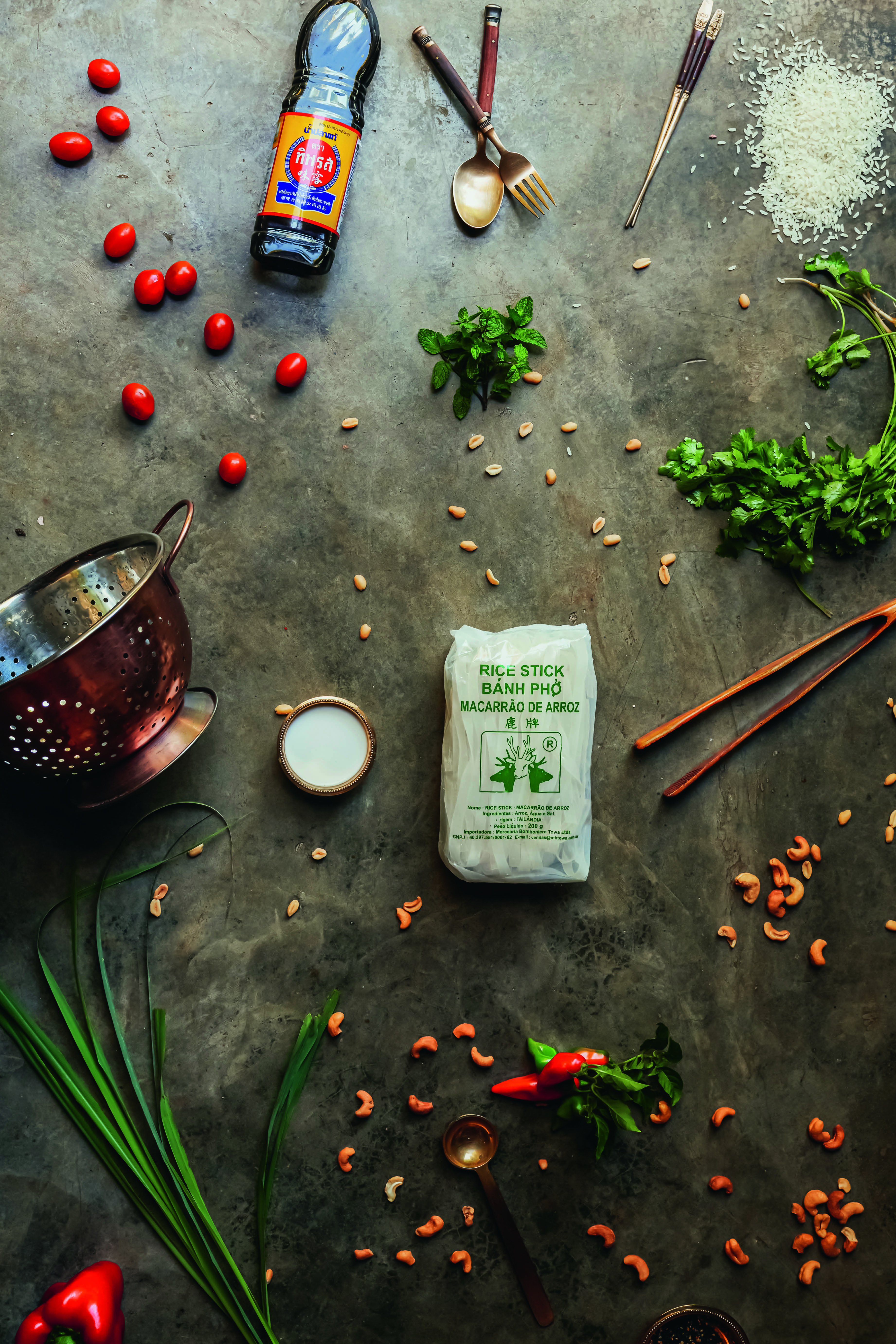 Pratos tailandeses da chef Heloisa Bacellar