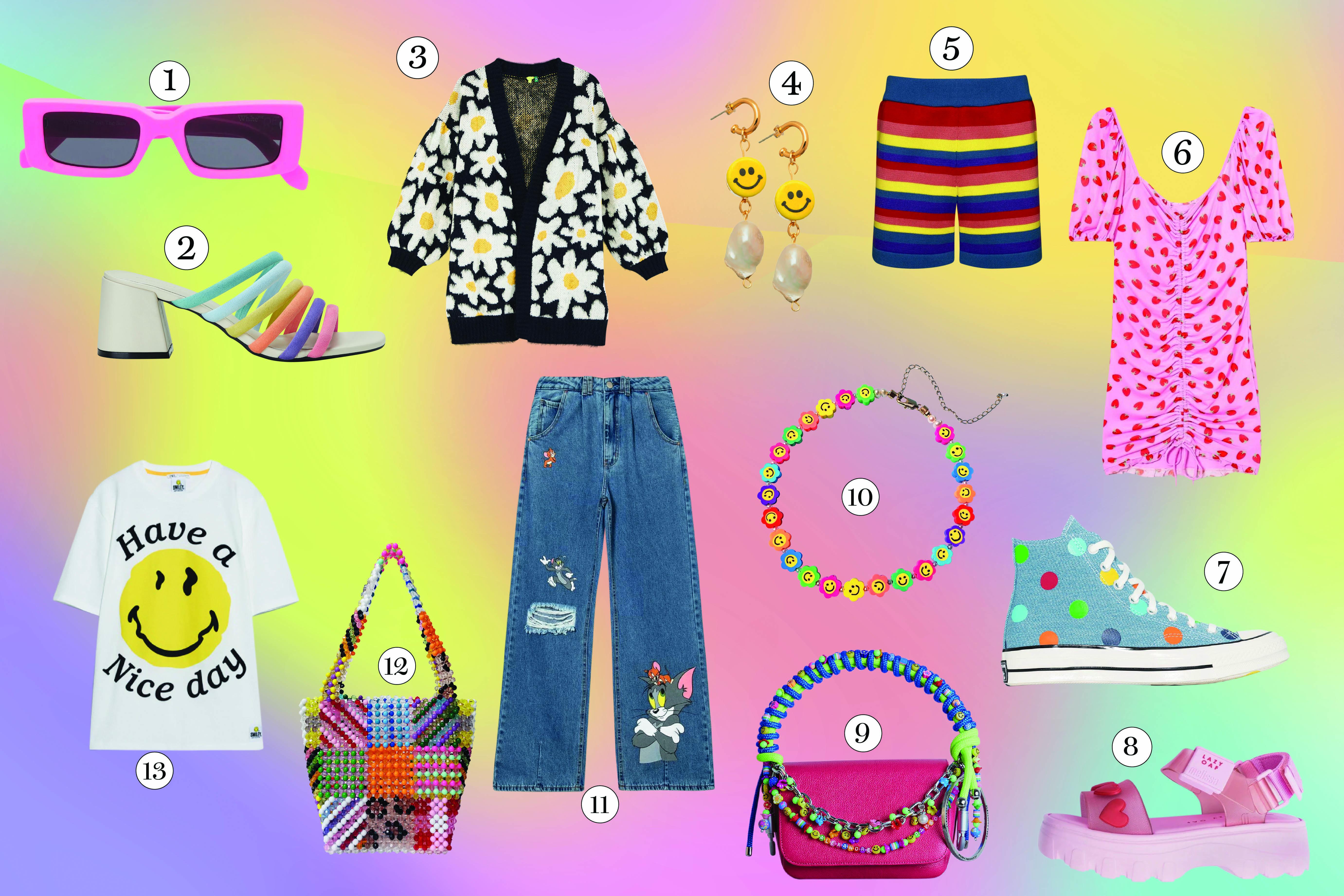 peças de roupas e acessórios