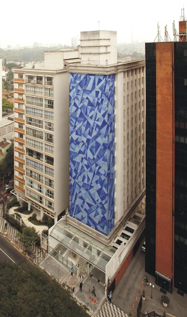 maior painel de mosaico de São Paulo