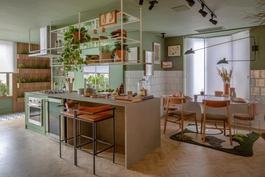 Cozinha Alecrim, por Beta Arquitetura - CASACOR Rio de Janeiro
