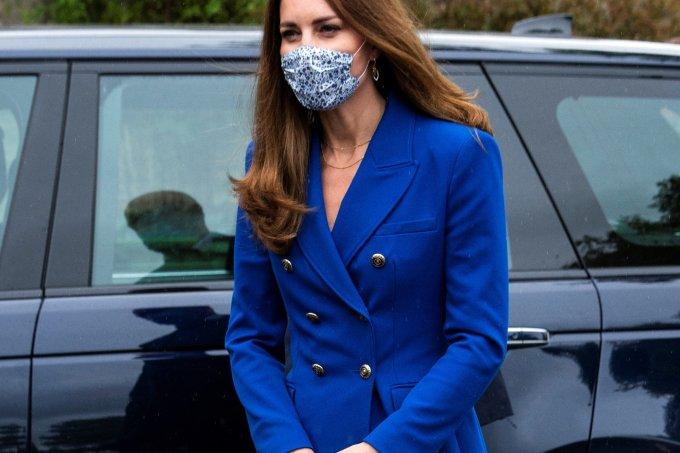 Destaque Kate Middleton – all blue