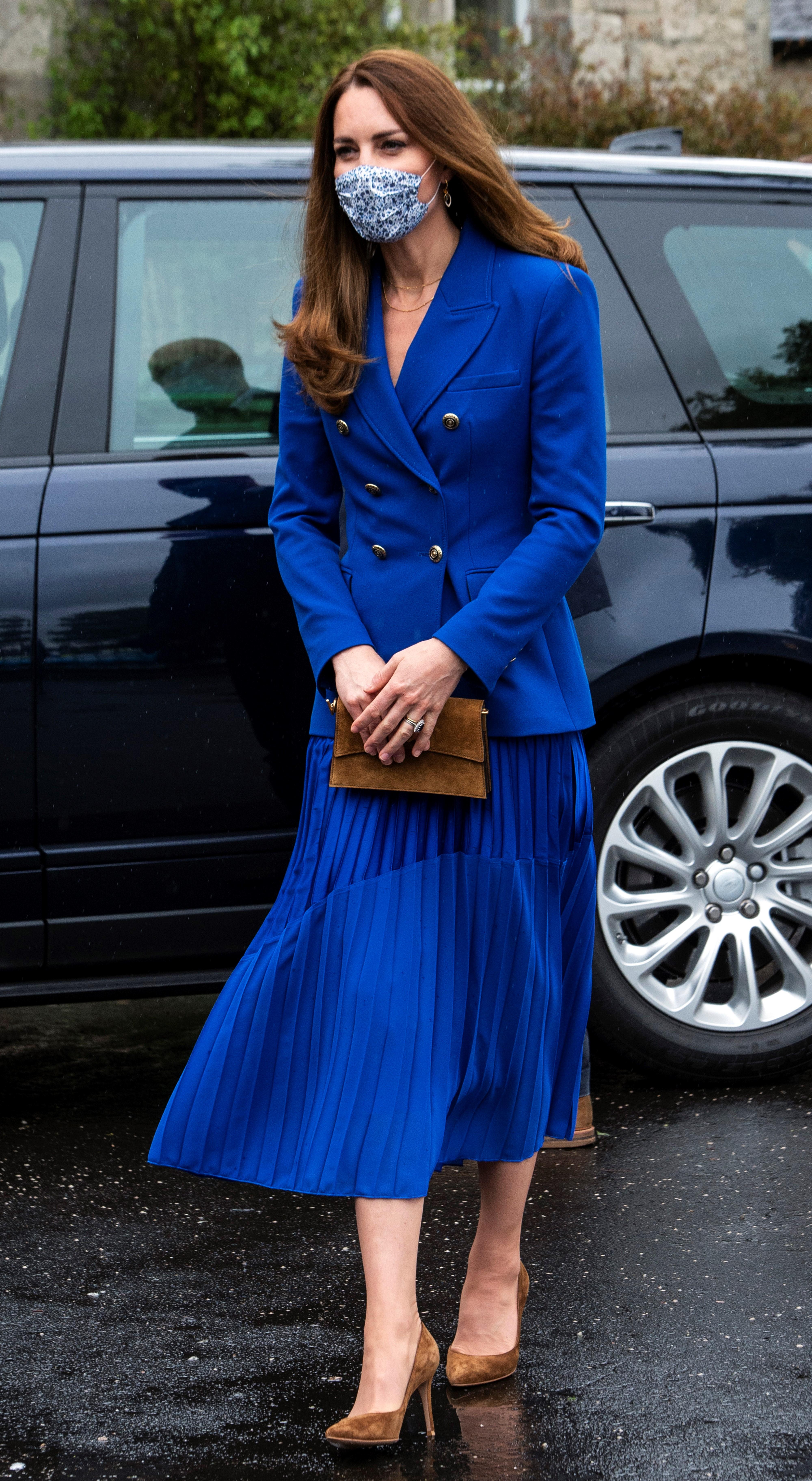 Kate Middleton - all blue