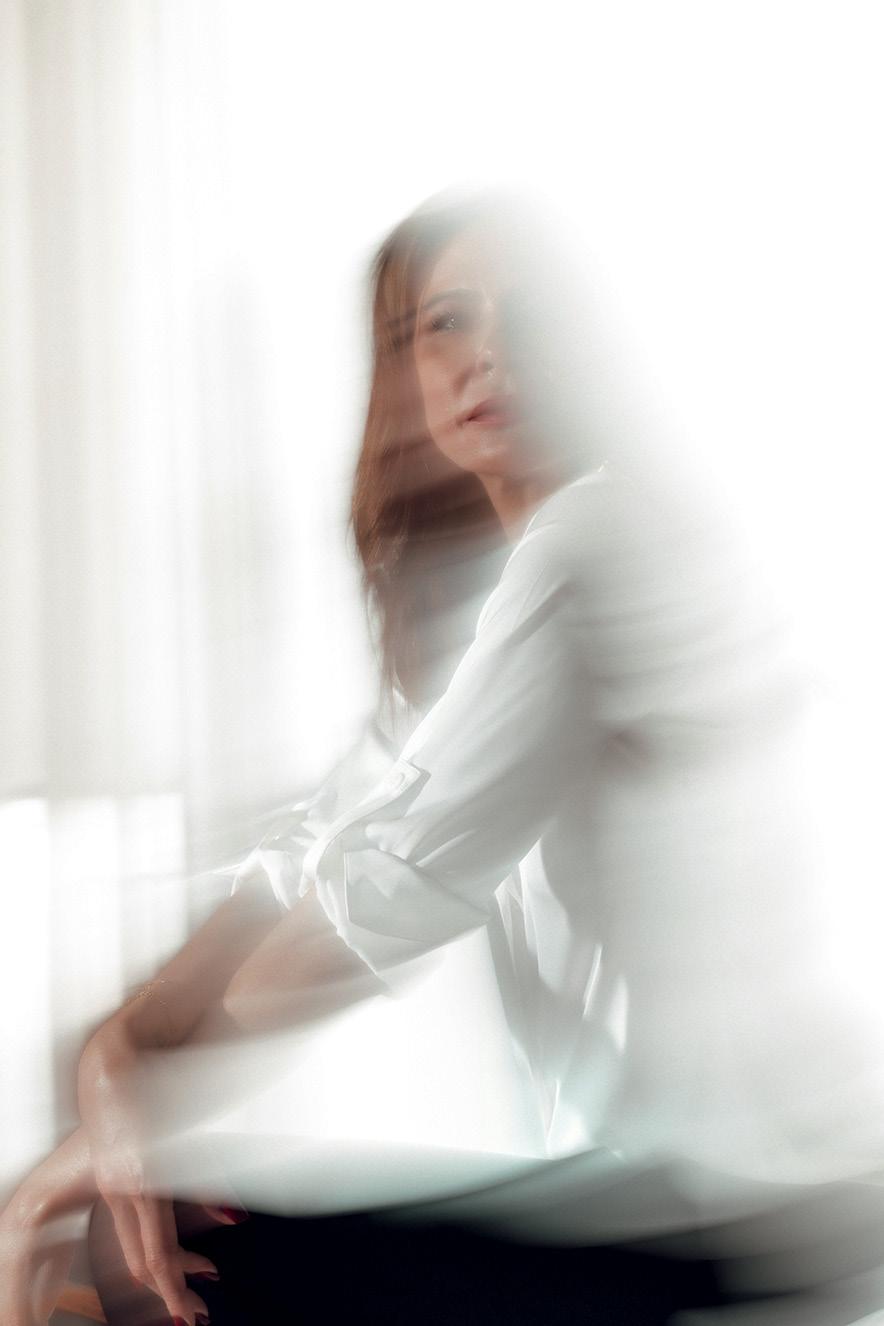 Retrato borrado de Luciana