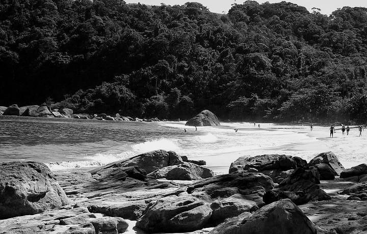 Paraty, praia dos antigos