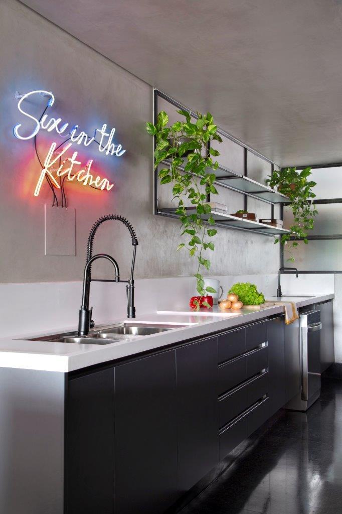 Apartamento projetado pelo SP Estúdio