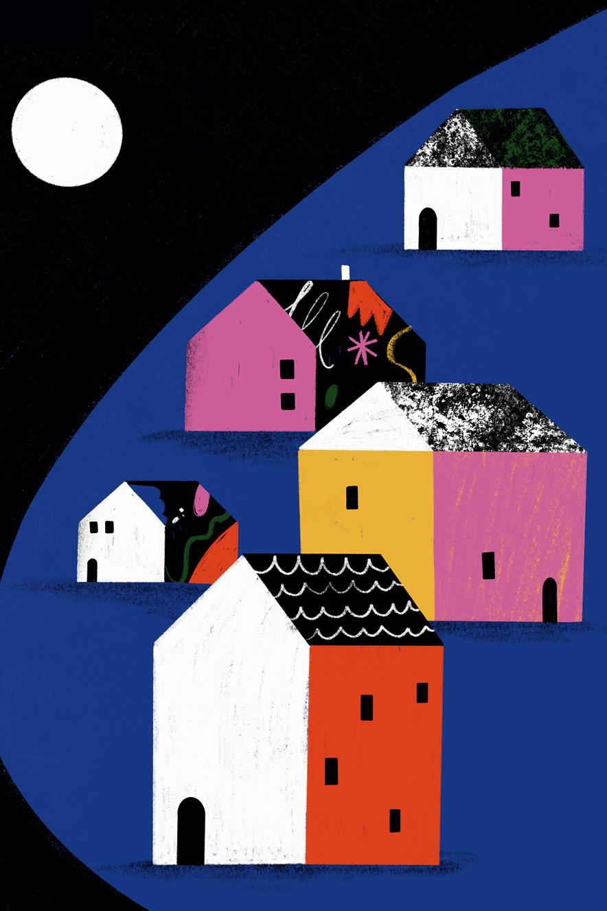 ilustração de casas