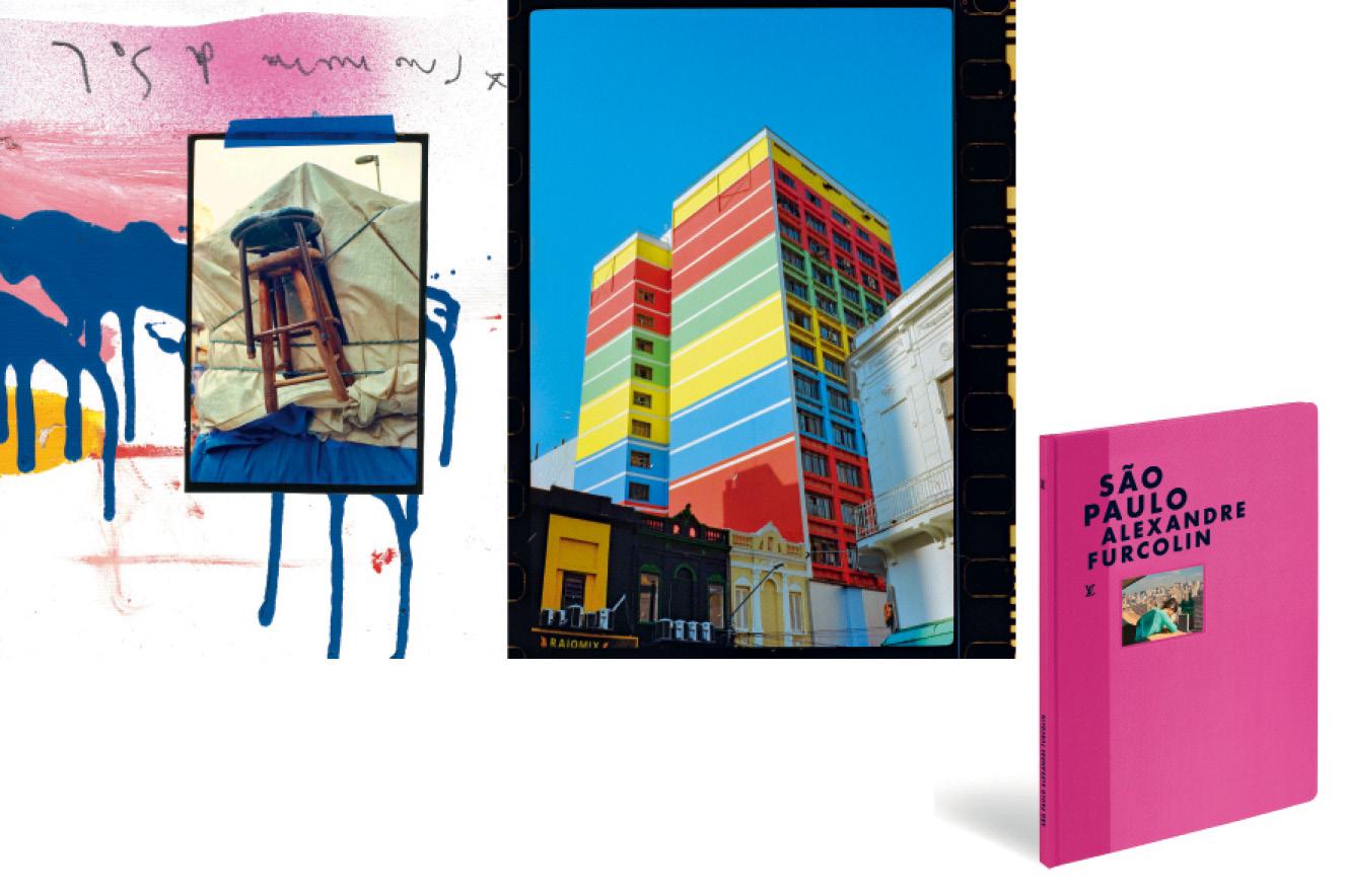 fotos de São Paulo e a capa do livro