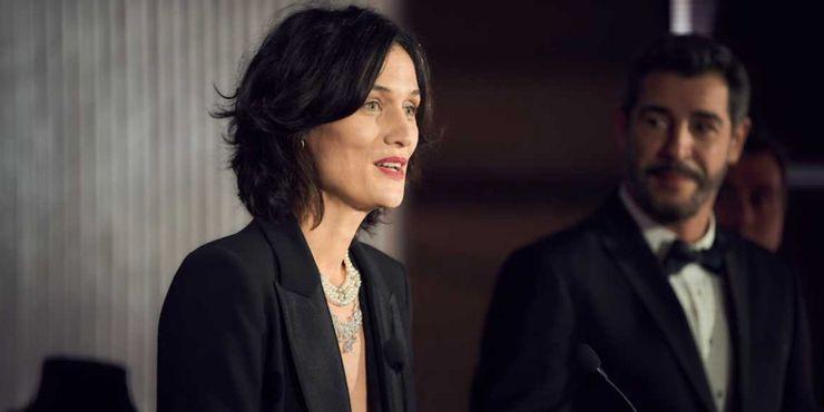 Clotilde Hesme, que interpreta Juliette Pellegrini