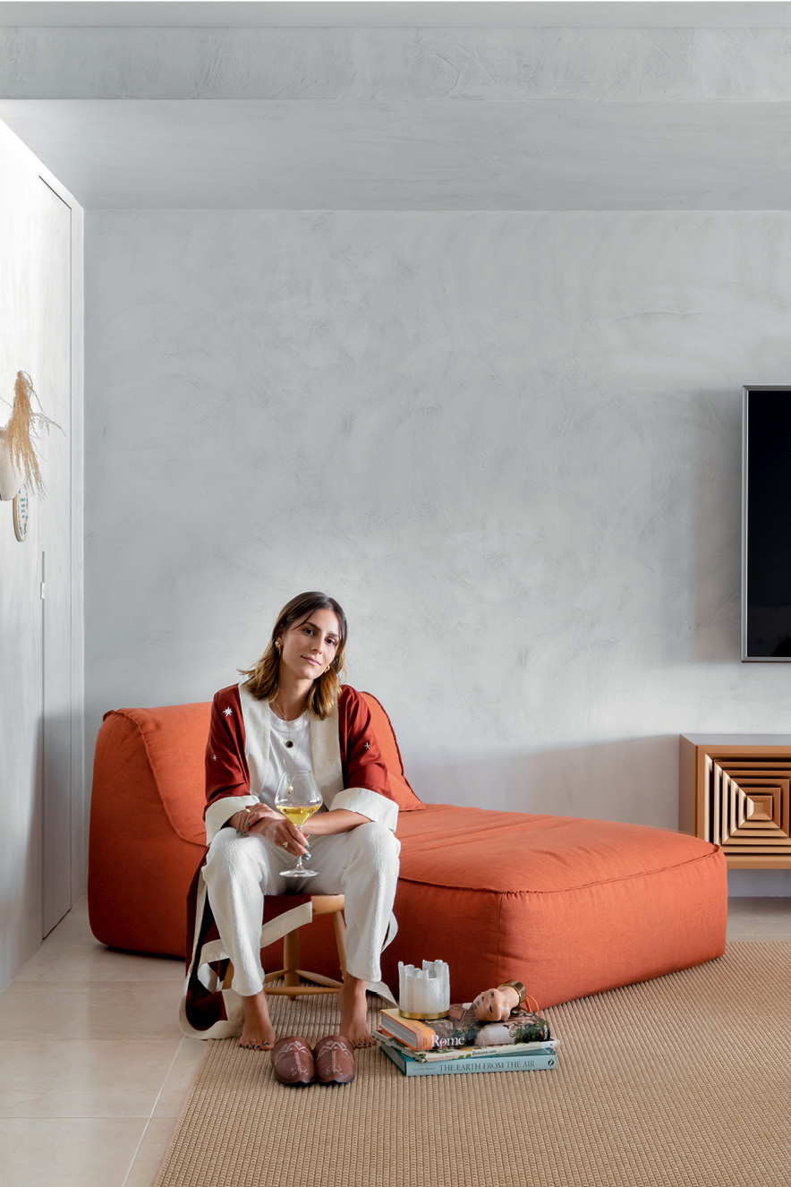 Apartamento Isabelle Colla, em Florianópolis - Designer de interiores Guilherme Garcia