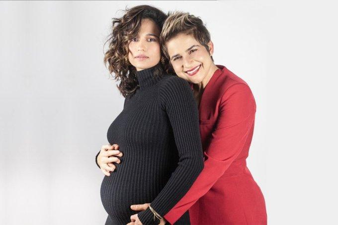 Nanda Costa grávida