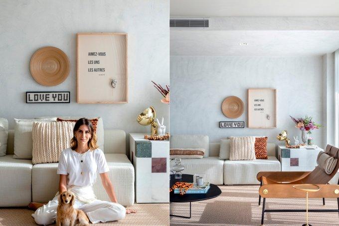 Apartamento Isabelle Colla, em Florianópolis – Designer de interiores Guilherme Garcia