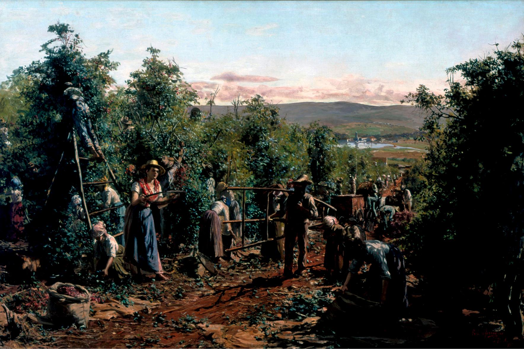 A Colheita, do pintor italiano Antonio Ferrigno