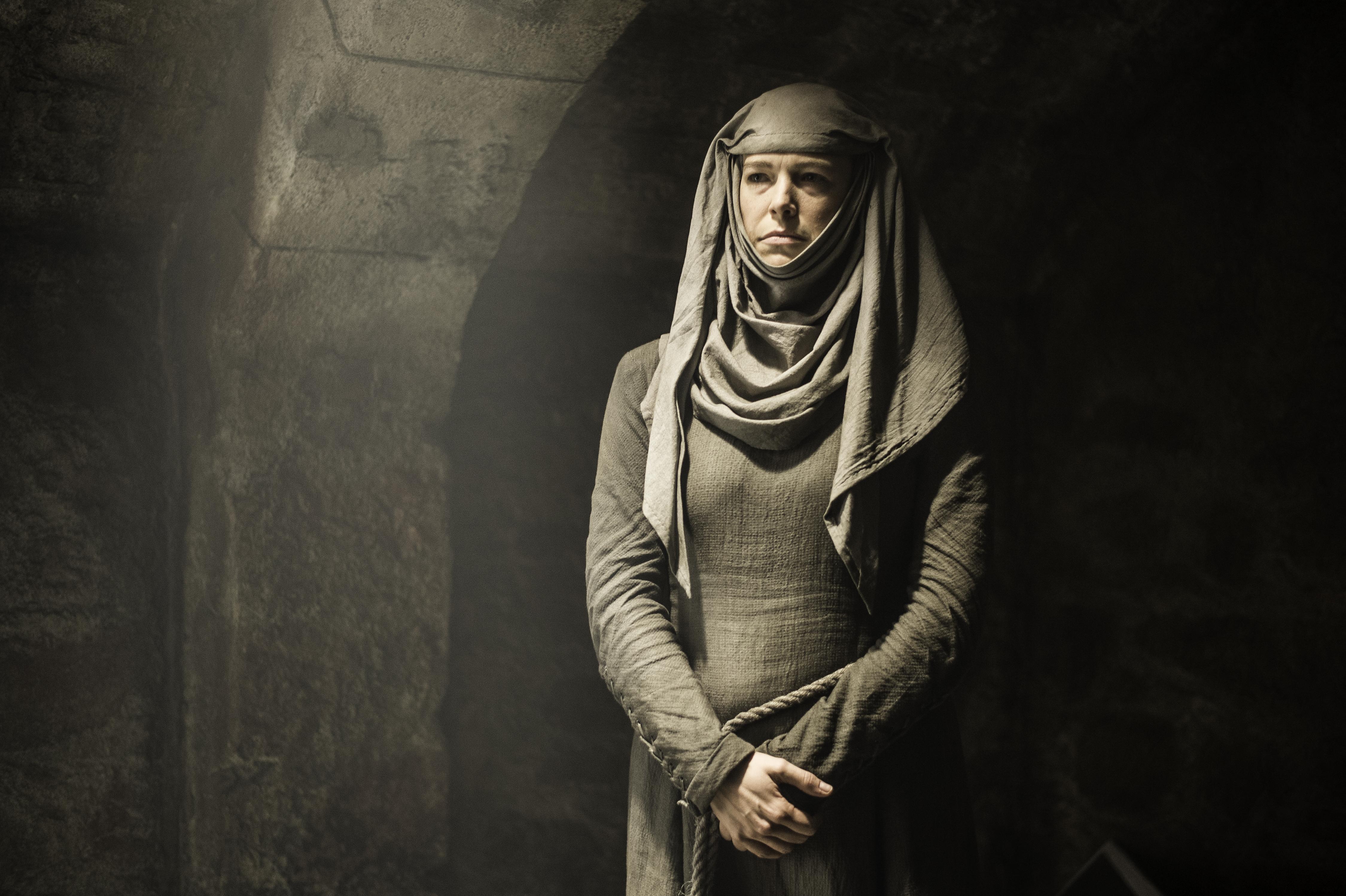 Hannah Waddingham como Septa Unella em Game Of Thrones