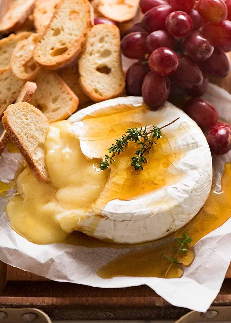 Fondue de queijo brie
