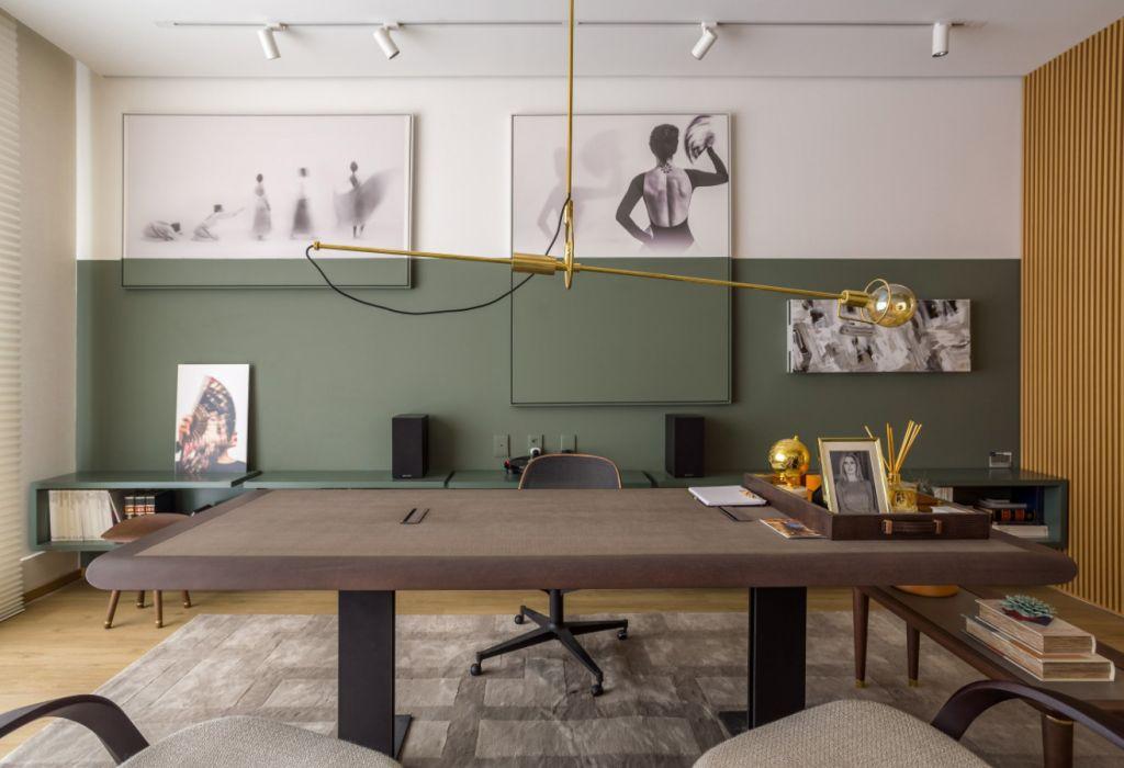 Home Office da Empresária, por Taciana Nakalski - CASACOR Paraná 2019