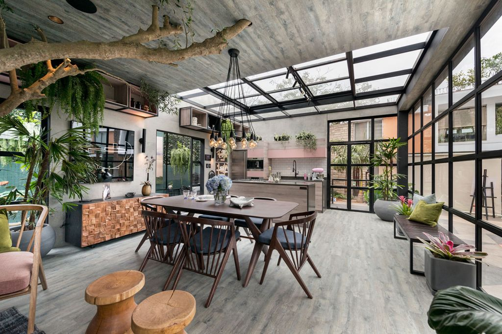 loft com iluminação natural