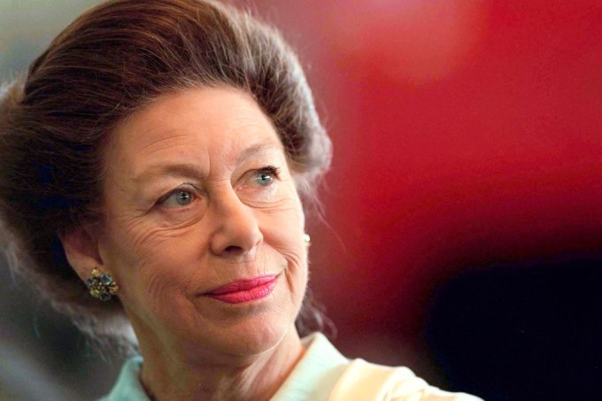 Princess Margaret Pensive