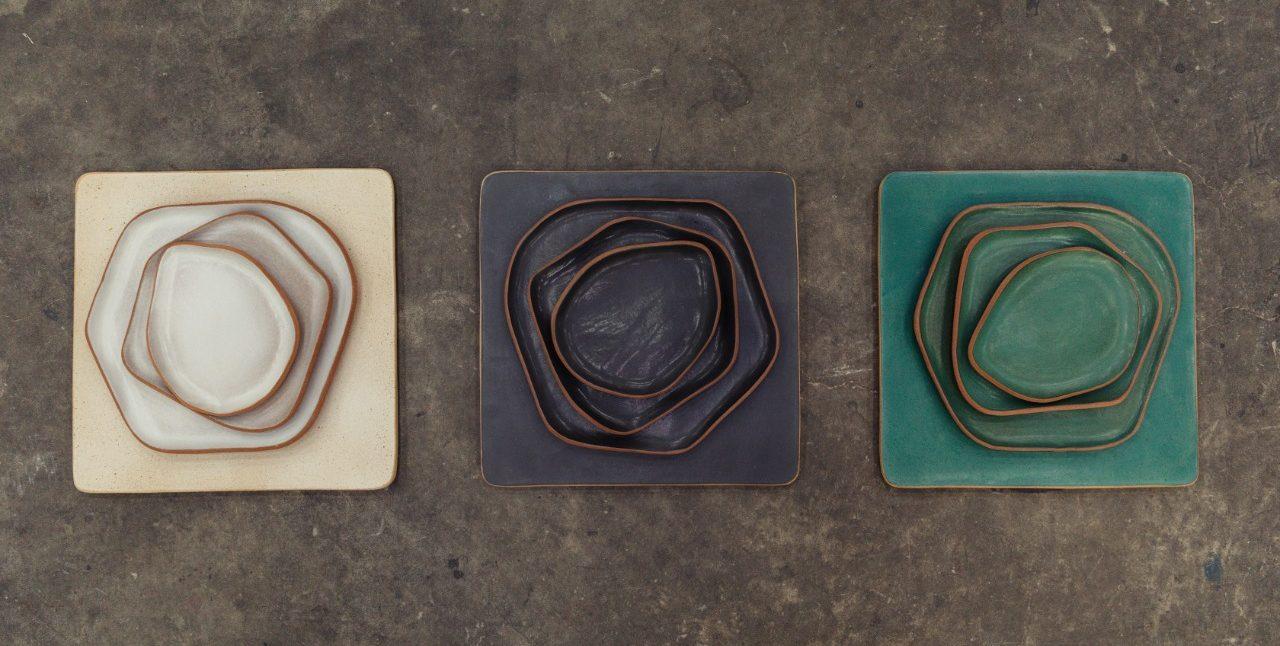estúdios de cerâmica artesanal