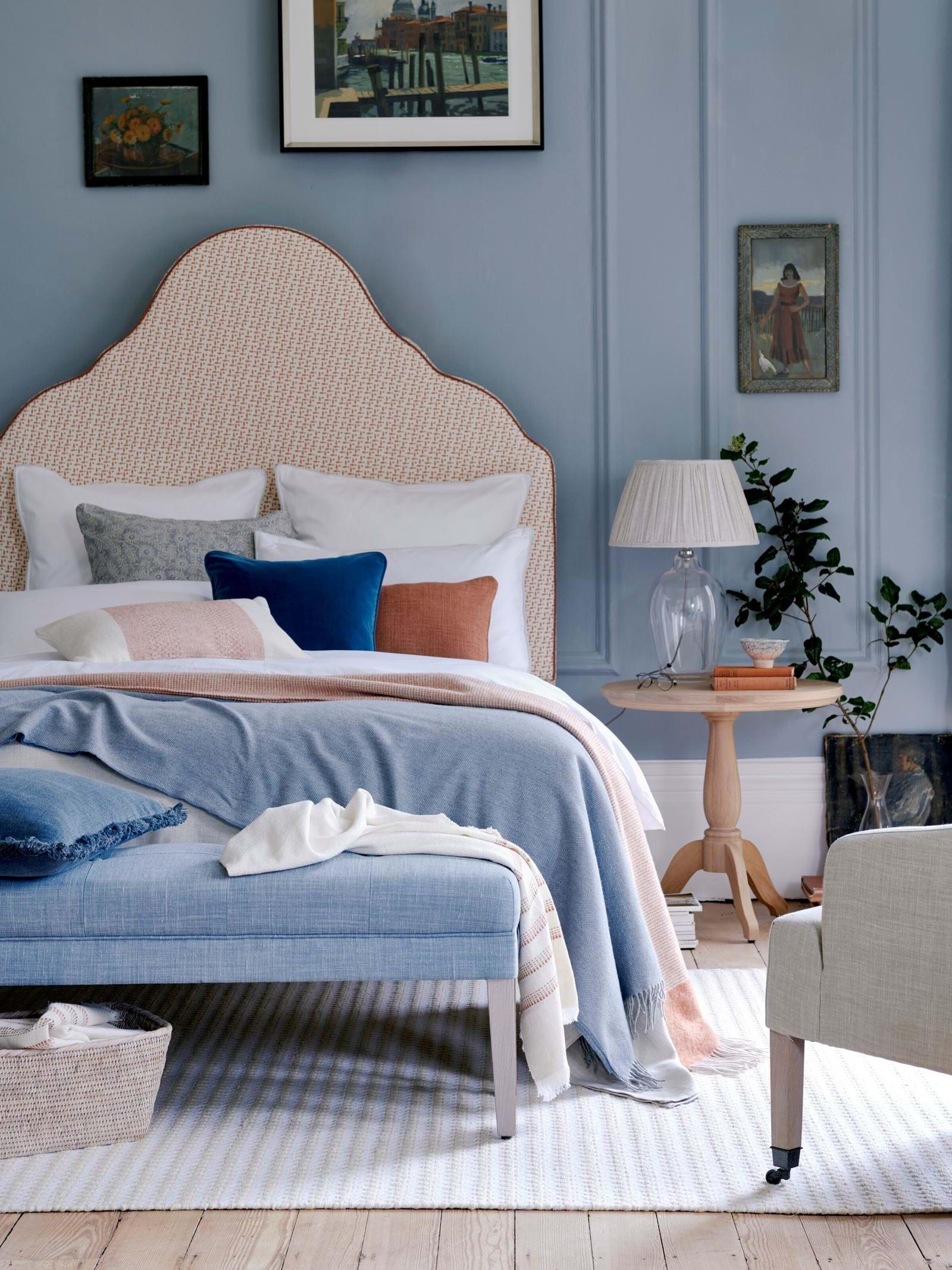 Quartos com decoração azul