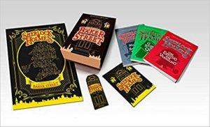 capa do kit de livros de Sherlock Holmes