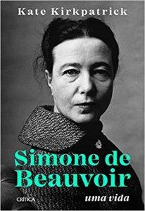 capa do livro Simone de Beauvoir, Uma Vida