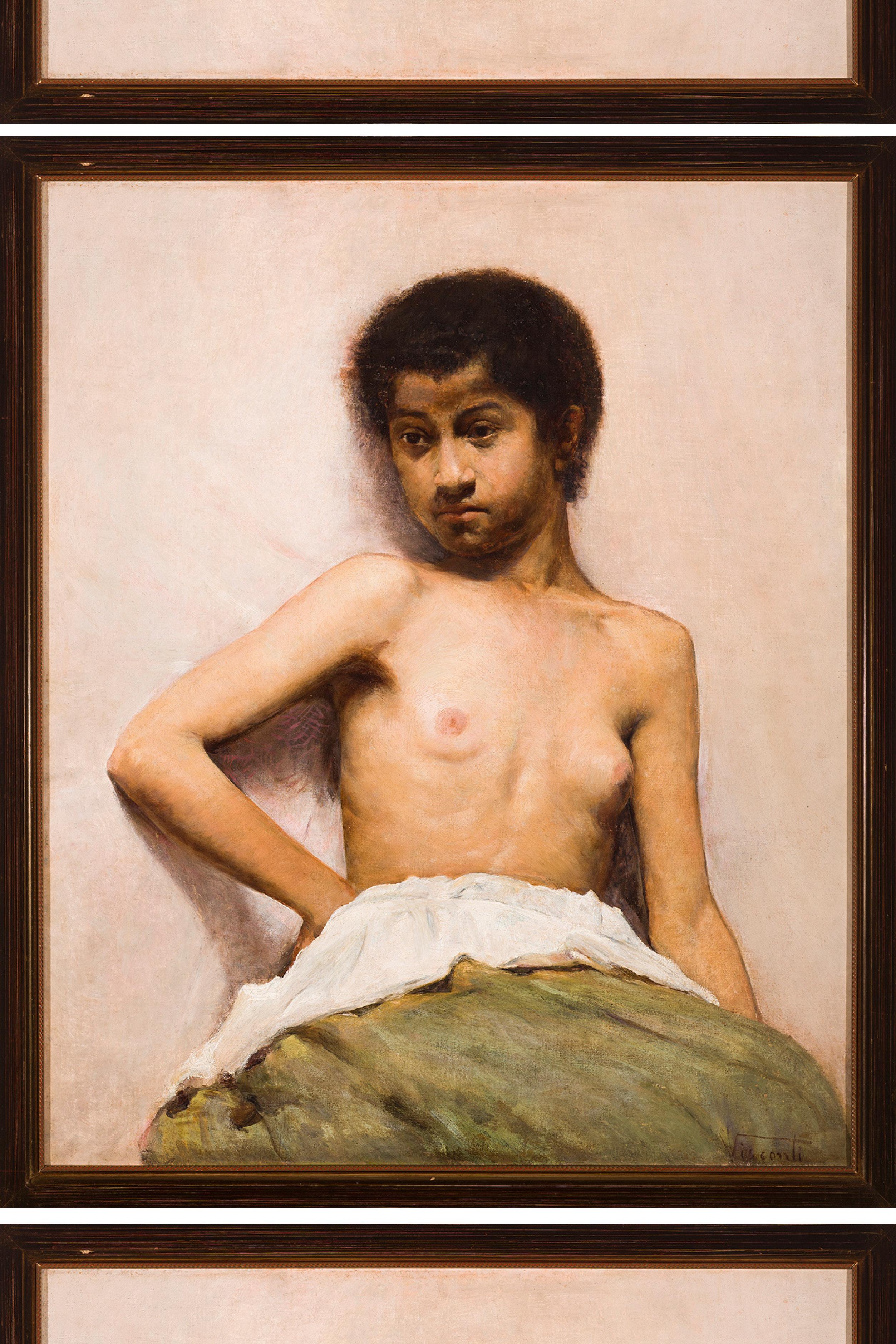 Torso de Menina, de Eliseu d'Angelo Visconti.
