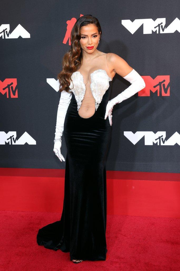 Look de tapete vermelho VMA