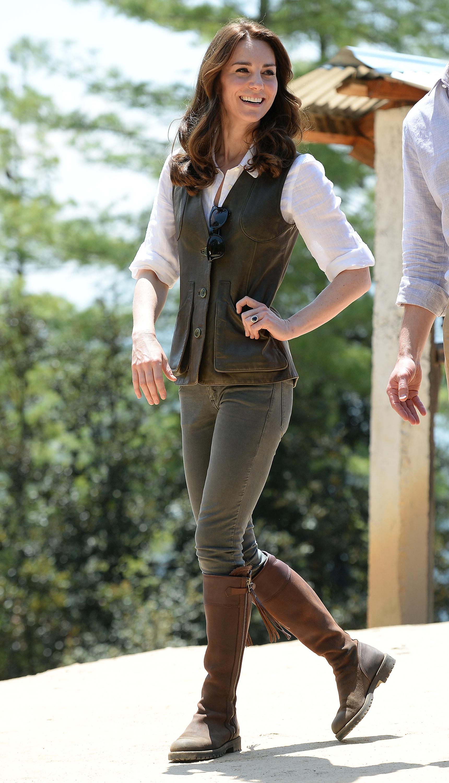 Kate Middleton bota