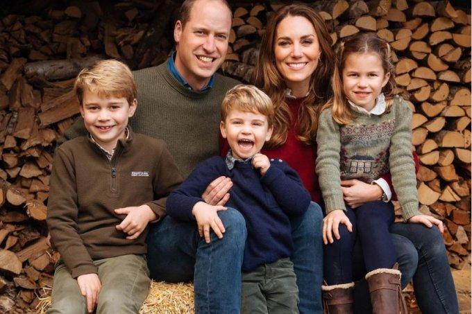 Kate, William e família