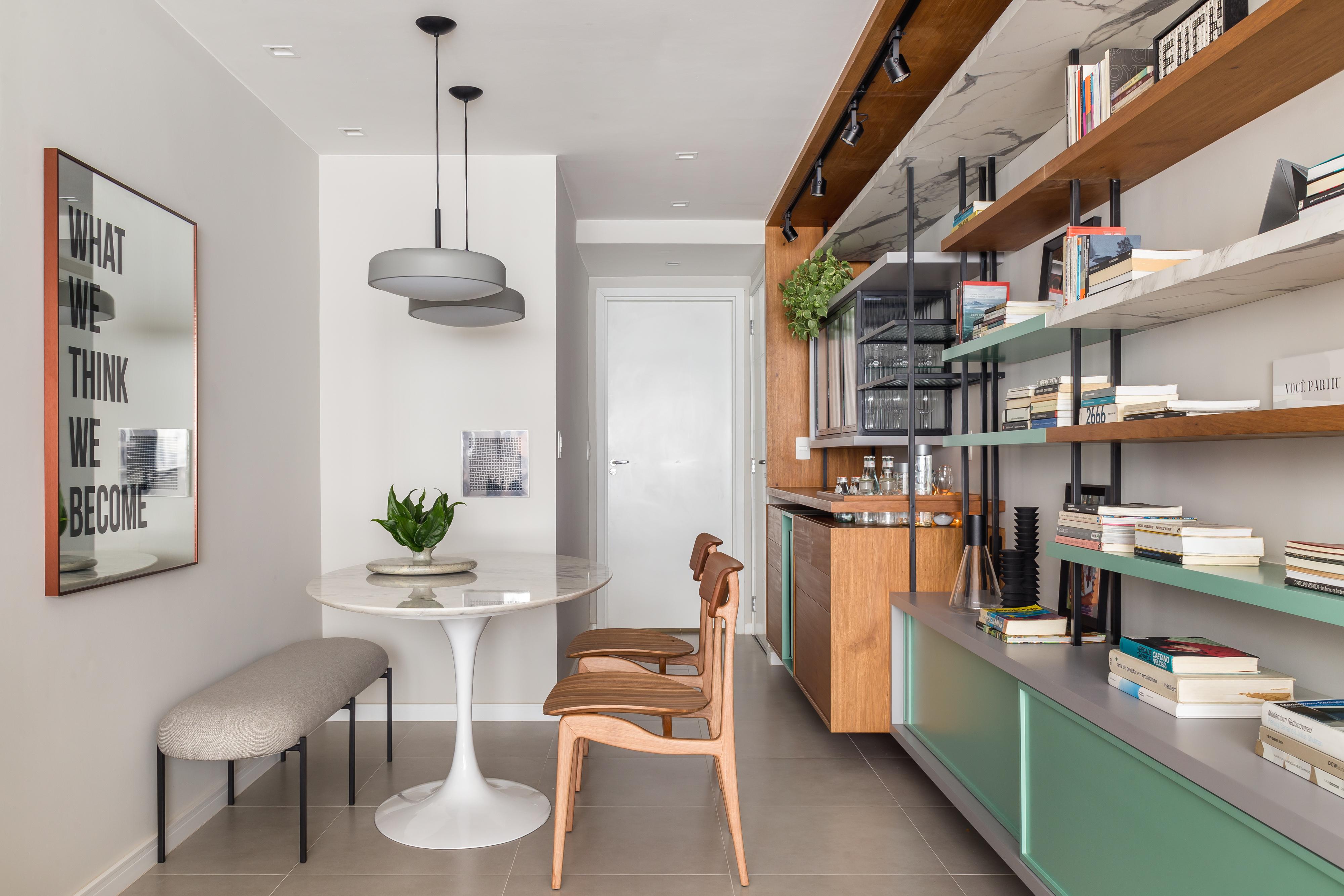 reforma de apartamento pequeno claro e iluminado