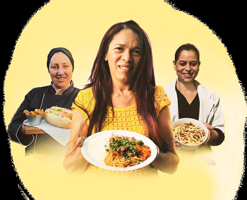 Cozinheira & Brasileira, projeto da 99Food e do Instituto Brasil a Gosto