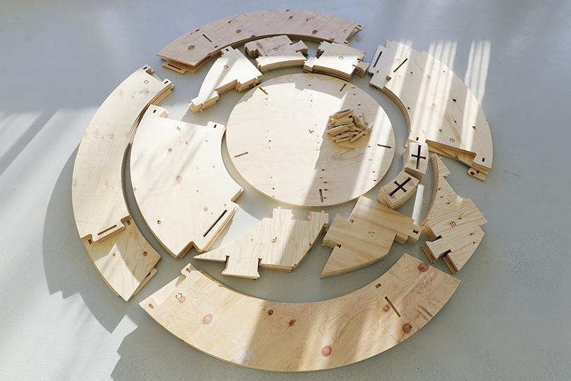 Moldes do jardim esférico da Ikea