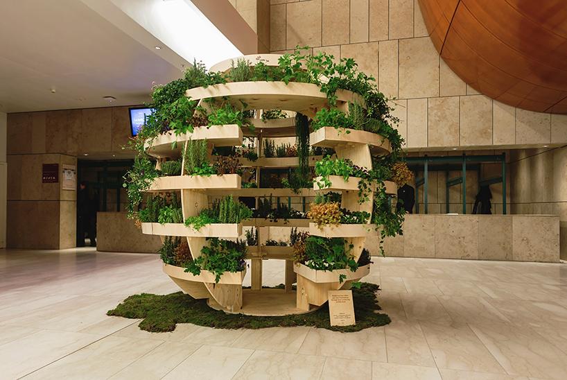 Jardim esférico da Ikea