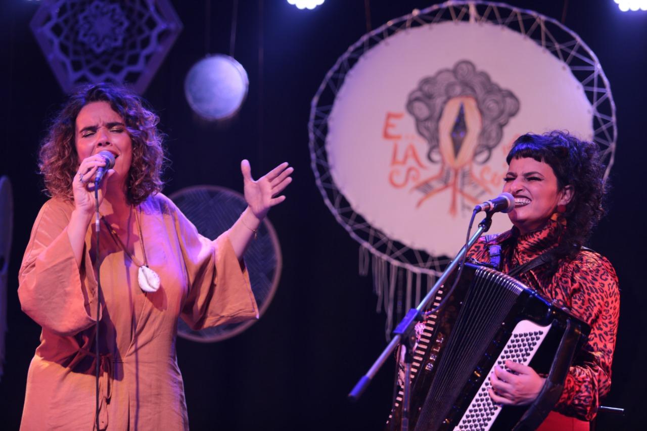 Lívia Mattos e Irene Atienza