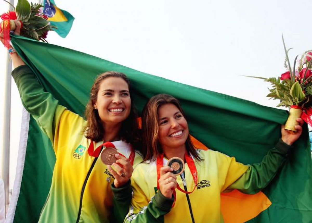 Isabel Swan e Fernanda Oliveira