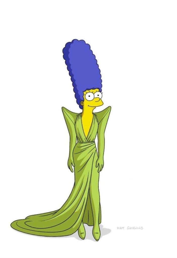 Os Simpsons no Paris Fashion Week