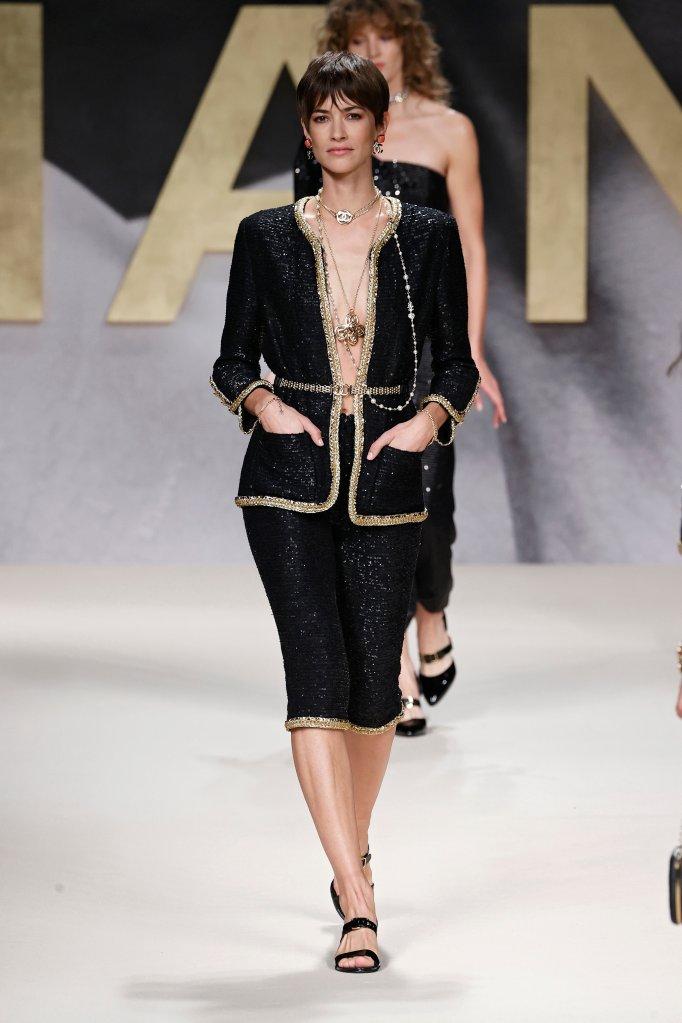 Desfile da Chanel no Paris Fashion Week
