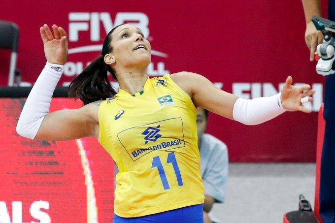 2017 Nanjing FIVB World Grand Prix Finals – Serbia v Brazil