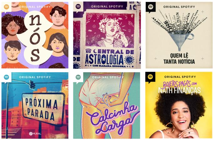 Spotify Podcasts Vozes Femininas